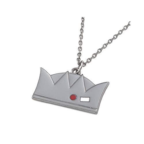 Yisily 1PC Riverdale Mercancía Metal Corona Collar Pendiente Clásico Apoyos De La Película Regalo De La Joyería Riverdale Jughead Collar para Las Mujeres del Hombre