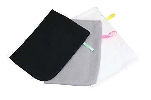 Babymajawelt® Lot de 10 gants de toilette en molleton super doux 25 x 25 cm