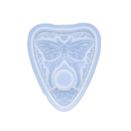 zhichy Molde colgante de mariposa, molde de silicona de resina, moldes de joyería para resina