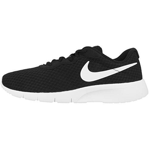 Nike Nike Tanjun (GS), Scarpe Running Bambino, Black (Black/White/White), 36.5 EU