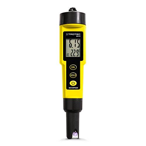 Trotec BW10Analyse-Messgerät für Flüssigkeiten, PH-Tester, Messgerät für Aquarium, Labor oder Schwimmbad