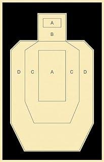 "USPSA/IPSC Official Practice Target, 22.5"" x 35"", Paper Targets"