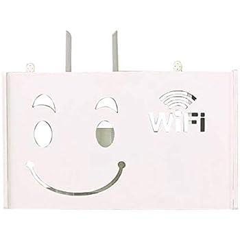 XZANTE Router WiFi Inalámbrico Caja de Almacenamiento Estante de ...
