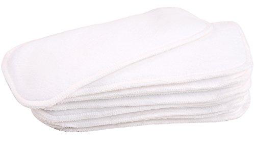 wegreeco Dog Diaper Pads - Bundle of 10 - (Female Medium, 3.54' x5.5.)
