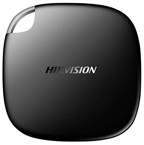 HIKVISION T100I Disco Duro Externo SSD portátil 512GB - hasta 540MB/s Velocidad de Lectura,USB 3.2/USB 3.1 Tipo C– Unidad de Estado sólido Externa (Negro)