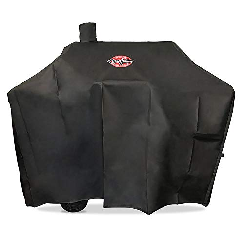Char-Griller 2187 Charcoal Grill Cover, Black