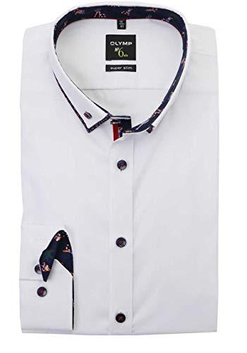 OLYMP Super Slim Hemd ELA weiß Größe KW41