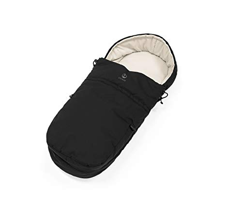 Stokke Black Stroller Bunting Bag for Newborn Baby, Compatible with All Stokke Strollers