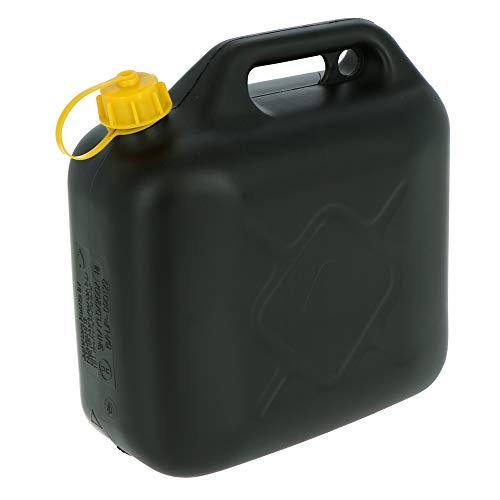 10 Liter Kraftstoffkanister Benzin & Diesel | Benzinkanister | Dieselkanister | Ersatzkanister mit Flexibles Ausgussrohr