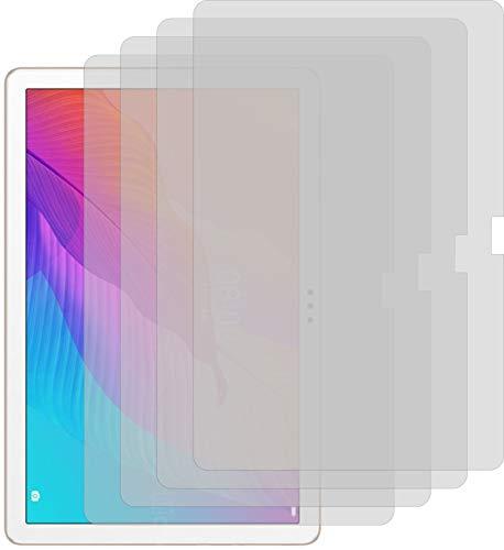 4ProTec I 4X Schutzfolie MATT passgenau für Huawei Enjoy Tablet 2 - Bildschirmschutzfolie Schutzhülle
