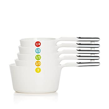OXO Good Grips 6-Piece Plastic Measuring Cups- White 1 EA