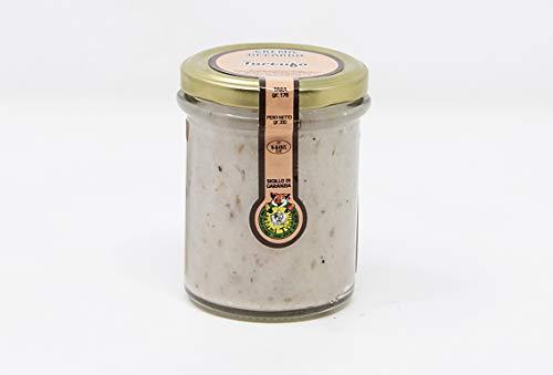 Crema di Lardo al Tartufo | vasetto da 200 gr. | Prodotto spalmabile tipico Toscano | Salumificio Artigianale Gombitelli - Toscana