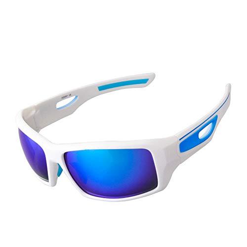 Deportes Al Aire Libre Ciclismo Gafas, Gafas De Sol Polarizadas, Impermeable Bicicleta De Montaña Gafas, Lentes UV400 De Alta Resistencia, Antideslumbrante, Templos De La Primavera