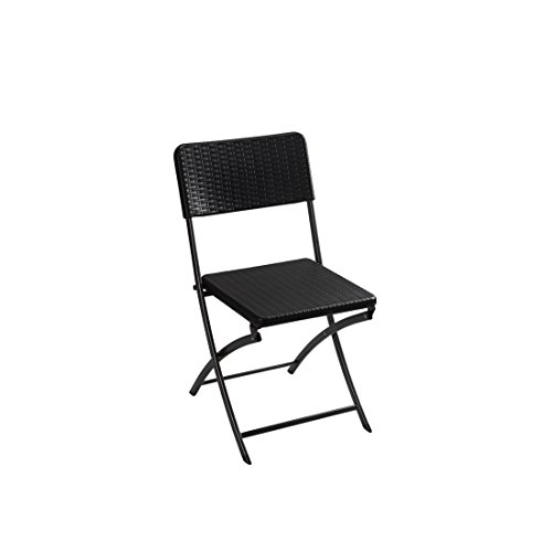 Velleman Silla, Negro, 43x99x10 cm, FP165R
