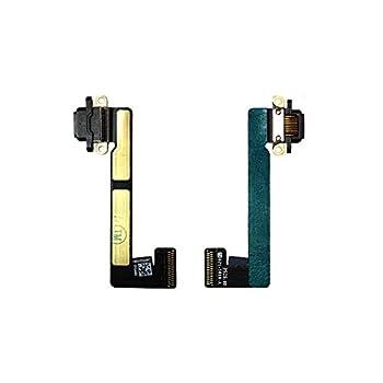 ePartSolution_ for iPad Mini 1 | Mini 2 | Mini 3 | Mini 4 USB Charger Charging Port Dock Connector Flex Cable Replacement Part USA  Mini 2/3 Black