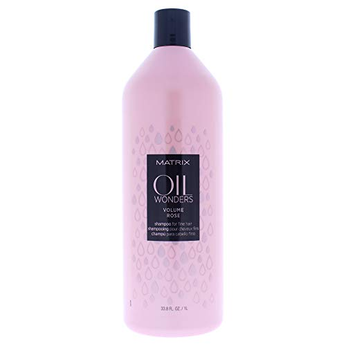 Total Results Matrix Oil Wonders Volume Rose Shampooing 1000 ml