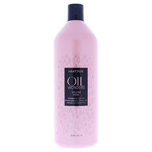 Total Results Matrix Oil Wonders Volume Rose Shampooing 1000 ml