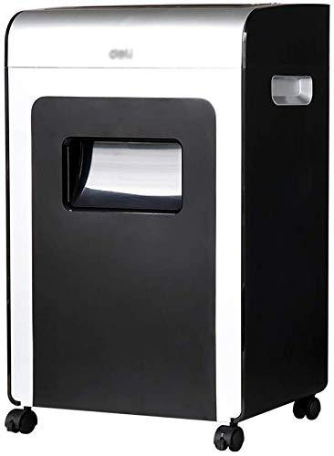 Knoijijuo 16 Feuilles Micro-Cut Heavy Duty Paper Shredder, Détruit CD/Carte de crédit/Staples