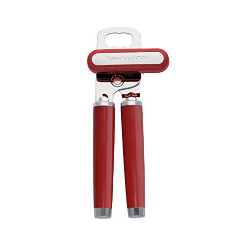 KitchenAid Classic Multifunction Can Opener / Bottle Opener 834Inch Empire Red