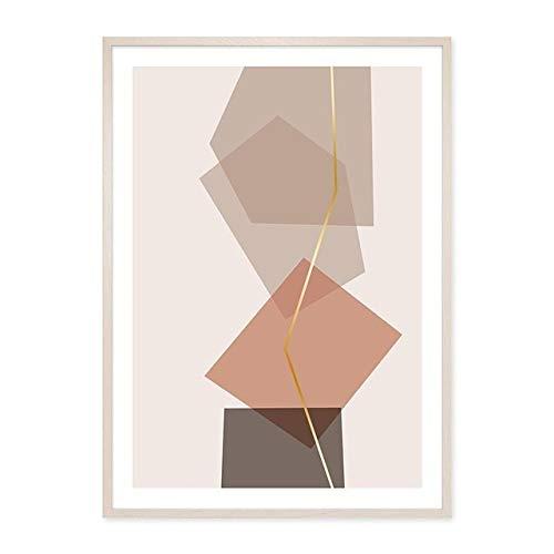Geometrische Grafik Leinwand Malerei Wandkunst Bild Poster Druck Galerie Wohnzimmer Home Decoration 40x50 cm