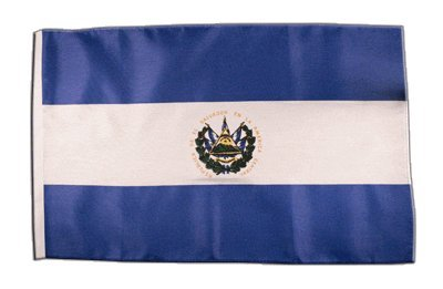Fahne Flagge EL Salvador 30 x45 cm