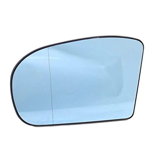 Reemplazo Azul del Lado Izquierdo para Mercedes W203 W211 00-06 2038100121 Car-Styling Retrovisor Espejo Lateral Lente de Cristal