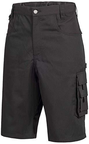 Nitras 7600 Männer-Arbeitshosen Kurz - Shorts für die Arbeit - Schwarz - 52
