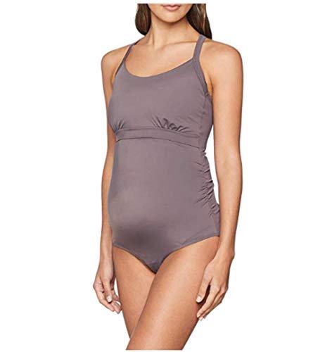Boob Dam amnings- och mamma- baddräkt graviditet badkläder med enkel amningsfunktion och solskyddsfaktor
