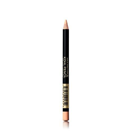 Max Factor Kohl Kajal Natural Glaze 90 – Nude Kajal perfekt für Smokey Eyes – Lidstrich auftragen leicht gemacht – 1 x 4 ml