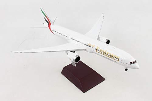 GEMINI G2UAE740 Gemini200 Emirates B787-10 1: 200 Scale Diecast Model Airplane, White