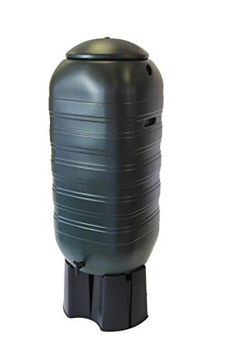 Water Butt Ondis24 Regenwasserbehälter Gießwasserbehälter Regentonne Regentank mit 250 Liter für Balkon Terrasse und Garten mit Ständer