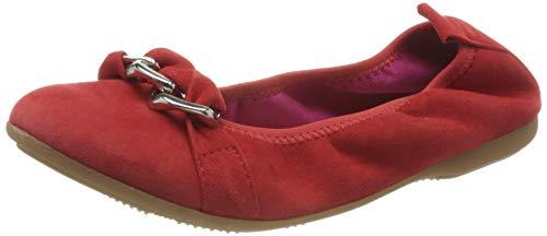 MARCO TOZZI Damen 2-2-22123-34 Geschlossene Ballerinas, Rot (Red 500), 38 EU