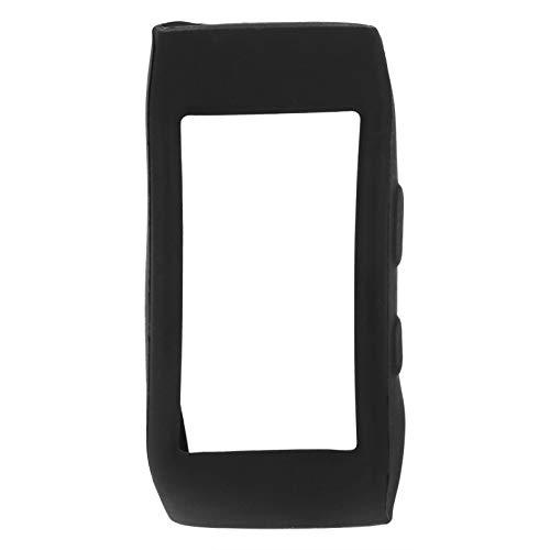 NICERIO compatível com Samsung Gear Fit2 PRO Capa protetora macia à prova de choque e resistente a estilhaços, acessórios para relógio inteligente, Preto, 6x3 cm