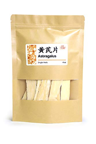 NEW PACKAGING Astragalus Hoanglchy Astragalus Propinquus Huang Qí Bei Qi Slice 黄芪片 北芪片 4 Oz