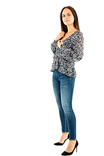 KAPORAL Vian Camisa de Vestir, Bleue, L para Mujer