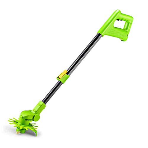 Buy Discount MLXG Light Cordless Weed Sweeper, Electric Weed Cleaner with Replaceable Nylon & Steel ...