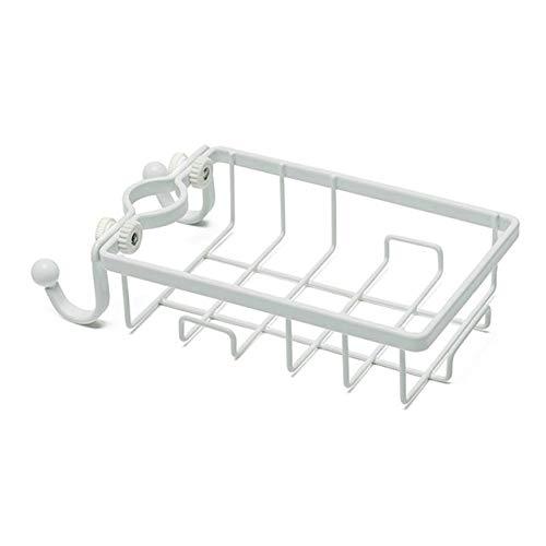 RFGHATG ijzeren wastafel opknoping gat kraan opslag badkamer holle plank spons schotel doek afwerking rack riool opslag rack