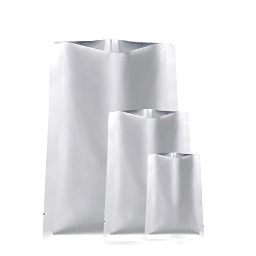 Details about  /Open Top Food Vacuum Bags Mylar Heat Seal Storage Silver Aluminum Foil Storage
