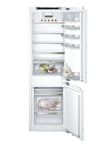 Siemens KI86SADD0 iQ500 Einbau-Kühlgefrierkombination / D / 164 kWh/Jahr / 165 l / lowFrost / hyperFresh Premium 0° / LED Beleuchtung
