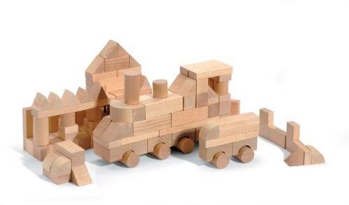 JeuJura - Jouet en bois - Eveil - Minibois 150 Pieces