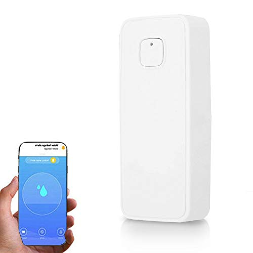 Smart Water Leakage Sensor Wifi Wireless Flood Leak Detector Alarm Water Level Monitoring with Remote Reminder