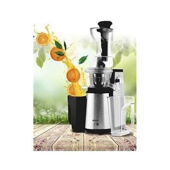 Licuadora de Extracción Lenta de Acero Inoxidable Sogo Ss-5110-80 Rpm - Boca Extra Ancha: Amazon.es: Hogar
