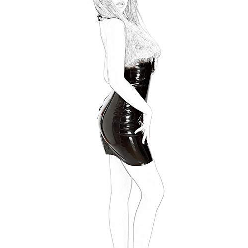 LJZ Ozzcr - Falda de arnés para mujer, accesorios de joyería, faja para festivales, gafas de sol de baile (talla L: L)