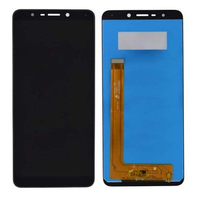 YUVKUZ Display Screen for Panasonic Eluga Ray 530 with Touch Combo Folder Full Assembly Digitizer Glass Replacement Ray530, ElugaRay - Black