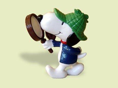 Snoopy Sherlock Holmes Schleich Figur 22222