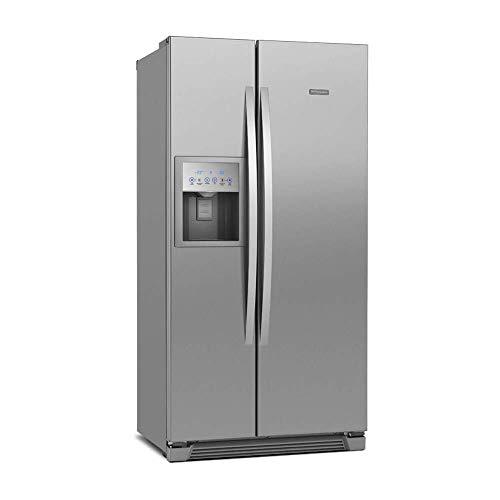 Geladeira/Refrigerador Frost Free Electrolux Side By Side Inox 504L (SS72X) 127V