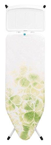 Brabantia 111426 1590 x 485mm tabla de planchar - Accesorio de planchado (Color blanco, 10 año(s), Acero inoxidable, 1590 x 485 mm, 75 cm, 99 cm)