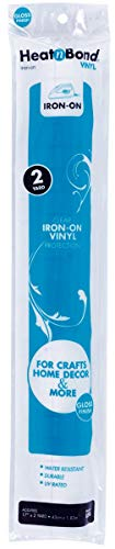 Lustre Vinyl - Vinilo para Planchar (1,8 m), Color Blanco