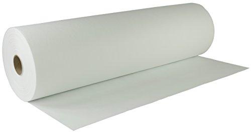 AMF Life Inlett-Vlies, Oeko-Tex®100, waschbar bis 90C°, 1,1m breit, Länge nach Wahl, weiß, Nähvlies, Meterware