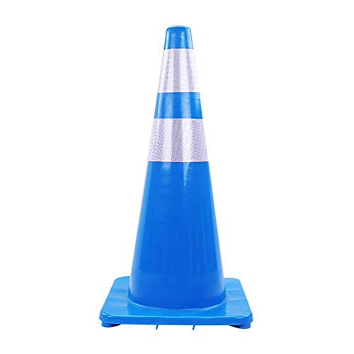 JIEH Coni di Sicurezza H-70Cm di Coni di Segnalazione del Traffico Automobilistico Parcheggio sulla Strada Cono di Guardia di Sicurezza del Traffico A